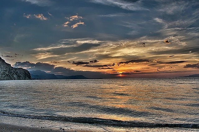 Alepohori Beach Sunset