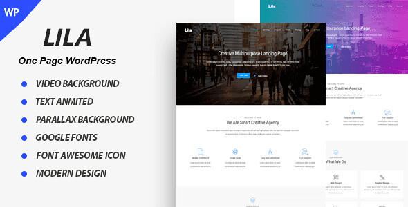 Lila WordPress Theme free download