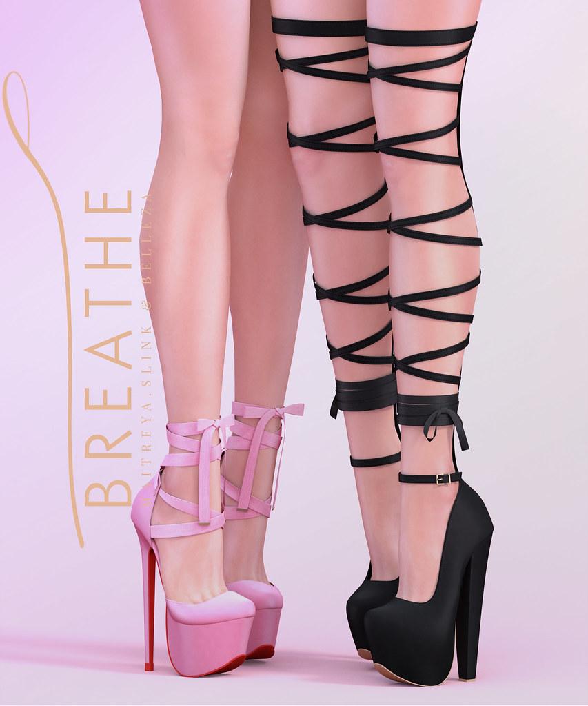 [BREATHE]-Keiko & Amari Heels - SecondLifeHub.com