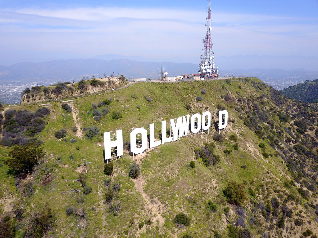 hollywood sign map california mapcarta. Black Bedroom Furniture Sets. Home Design Ideas