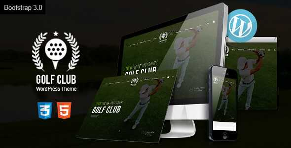 Golf Club WordPress Theme free download