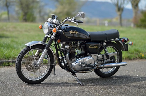 Norton Commando Interstate 750cc OHV