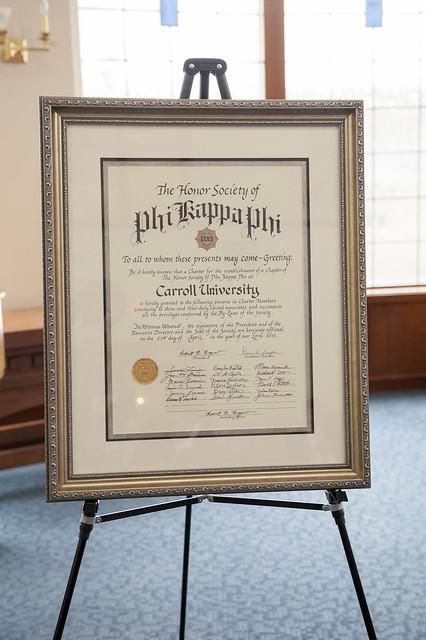Phi Kappa Phi Induction 2017