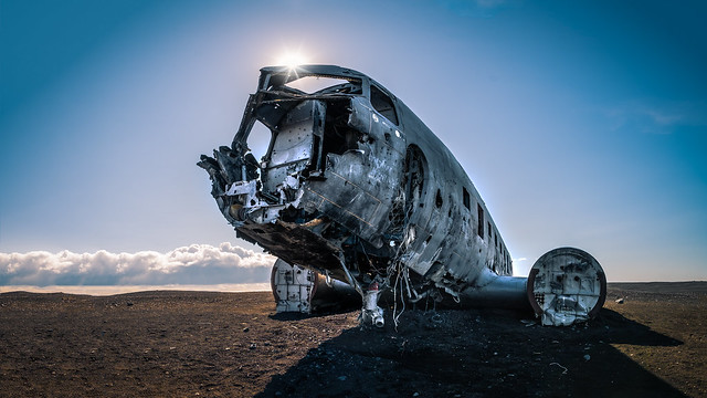 Plane wreck - Solheimasandur, Iceland - Travel photography