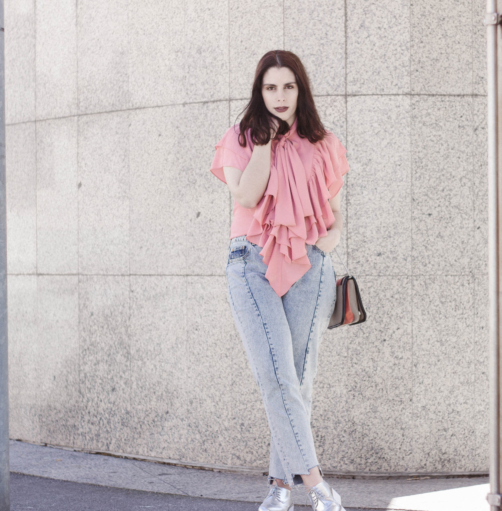 look-outfit-pink-ruffles
