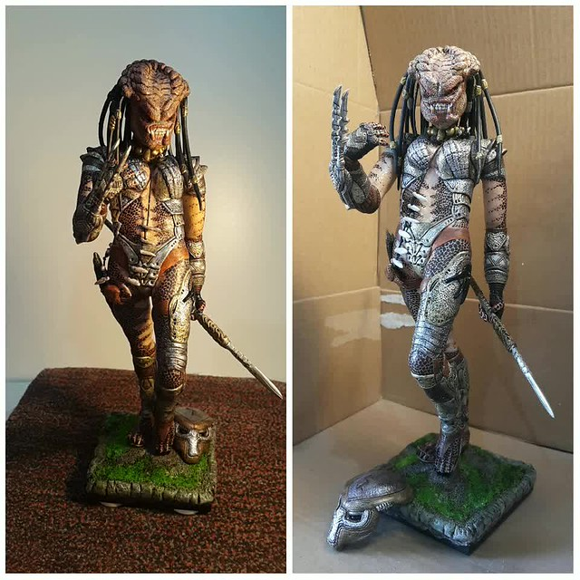 she P R E D A T O R . . . action figure SCULPT 34139425905_ba08081ca6_z