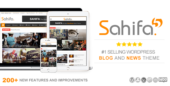 sahifa theme wordpress full - Sahifa Theme