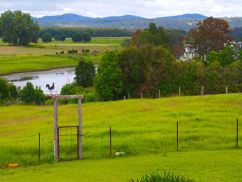 Rural outlook over the Macleay river