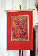 St George banner by Norwich Needleworkers Guild
