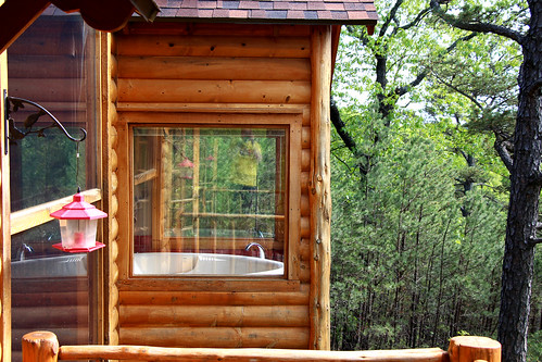 windows view cottage lookout jacuzzi treehouse springs eureka lofty