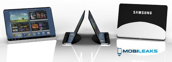 Гибкий планшет Samsung