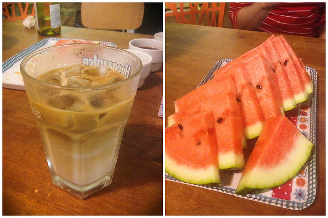 jeju coffee watermelon