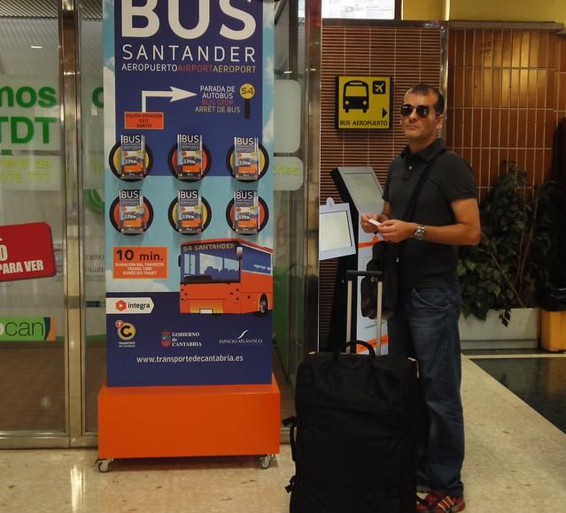 Como sair e chegar ao Aeroporto de Santander