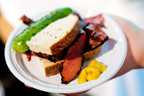 Pastrami sandwich by Artie's Delicatessen