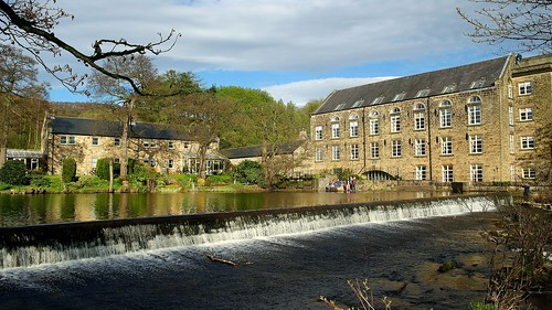 Bamford Mill and Weir