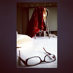 Glasses and WIP #las #laborartsweat #artistinresidence #srac #centralartstation #art #artist #red #redjuicyvibrations