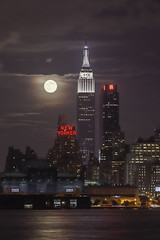 2013 Supermoon from NYC