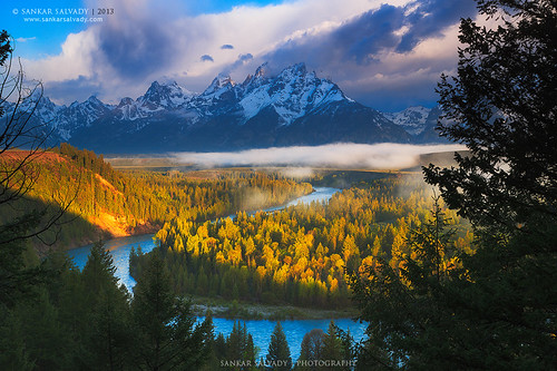 Snake River and Grand Teton