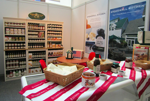 Stonewall Kitchen's display booth at the 2012 Gulfood Trade Show.  (Courtesy Photo)