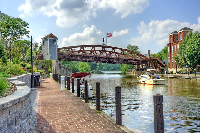 14 Lift Bridge At Fairport On The Erie Canal Flickr