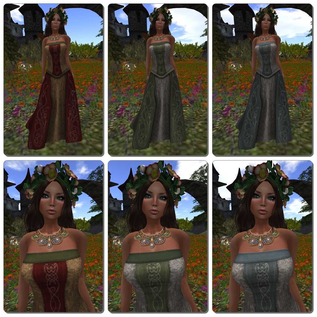.:SF:. Eryssel Elvish Gown