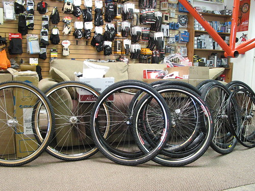 Wheels for cross bikes