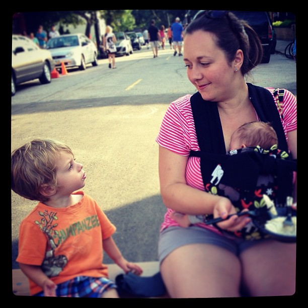 Me and my boys at Taste of Tremont. #tasteoftremont #tremont #happyincle #summerincle
