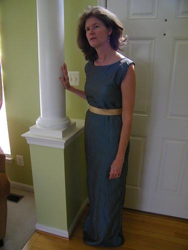 """Recreating"" a 1920 Fortuny Delphos Gown"