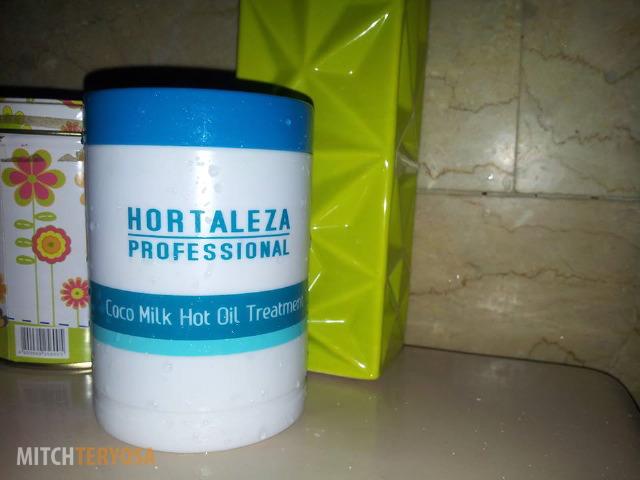 Coco Milk Hot Oil Treatment