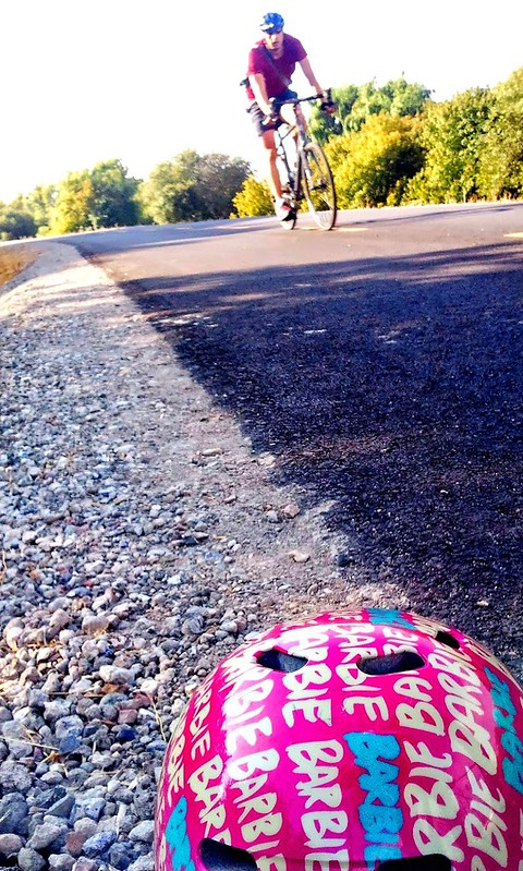 Roadside Treasure: Barbie multisport helmet