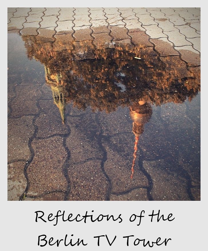 polaroid of the week germany berlin rain reflection