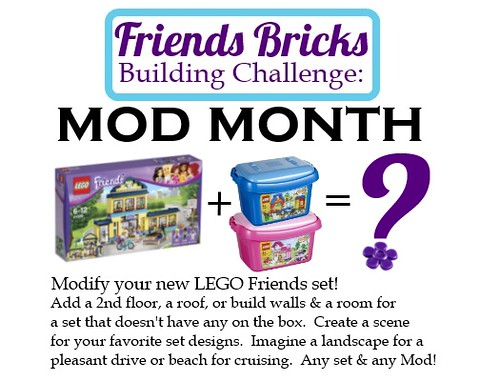Friends Bricks Building Challenge: MOD MONTH by FriendsBricks