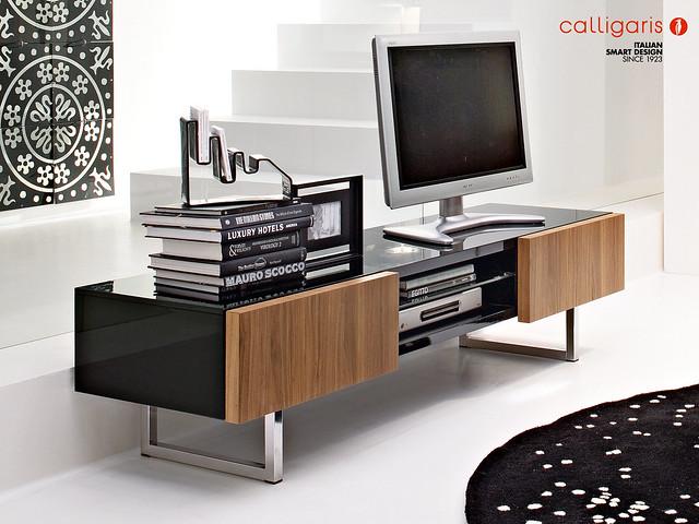 Il mobile porta tv pi amato horizon calligaris italian smart design - Calligaris porta tv ...