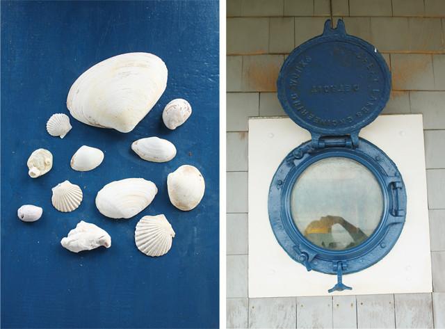 shells & porthole