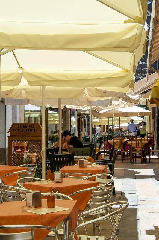 Ronda, Spain - dining outdoors