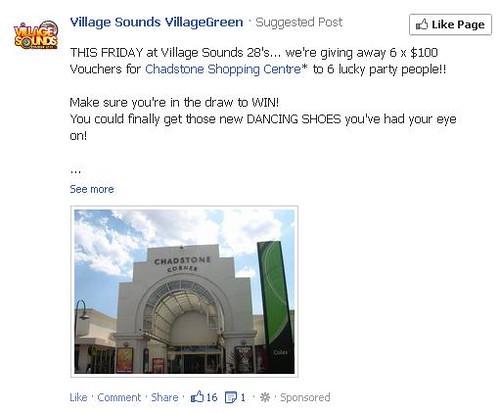 A mistargeted Facebook advertisement
