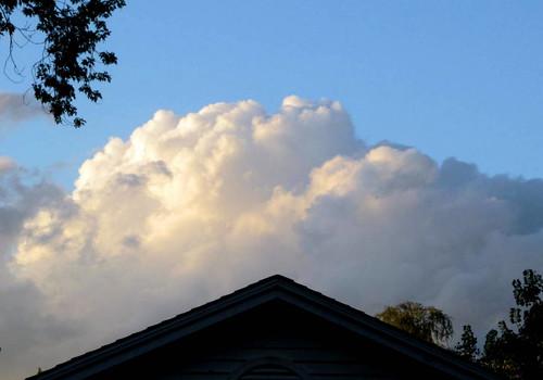 bluesky cumulusclouds fairweatherclouds highinsky summer2013 treehouseshadows