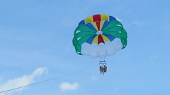 surface water sports, parachute, sports, parasailing, windsports, extreme sport,
