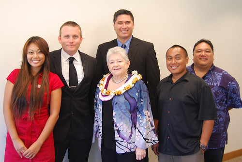 UH President Greenwood's final visit to UH West Oahu