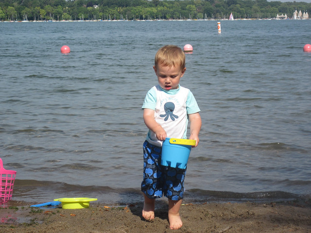 Lake Harriet beach-3