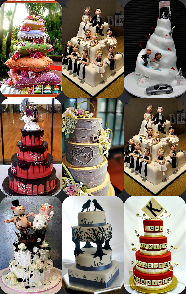 Unique Wedding Cakes.Unique Wedding Cakes Uniquely You Planning