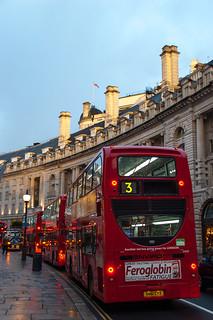 Bus sur Regent's Street