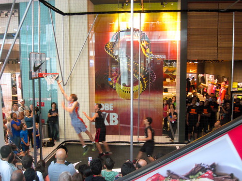 Basketball At Dubai Mall