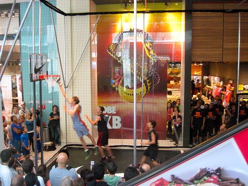 Basketball At Dubai Mall