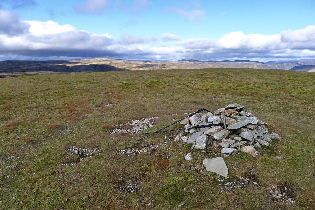Summit of Glas Mheall Mòr