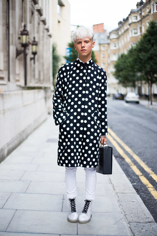 Street Style - Matty, London Fashion Week