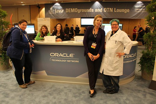 Ladies of the Oracle demoground