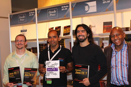 Java EE 7 book authors at Java One 2013