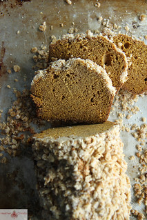 Pumpkin Bread with Oatmeal Streusal