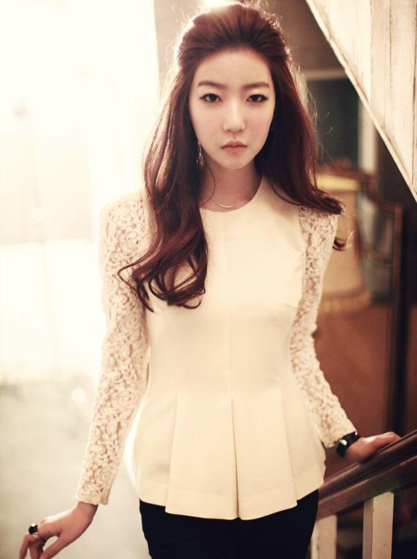 Korean Fashion Blouses Korean Fashion Clothing   LONG HAIRSTYLES